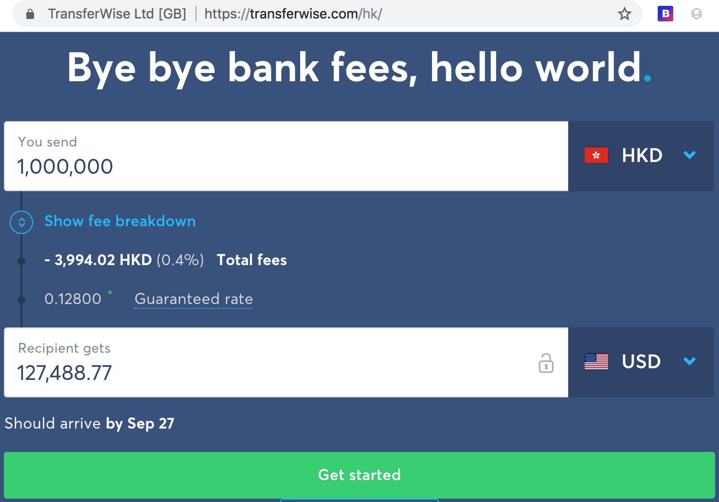 Better Than Transferwise Saving